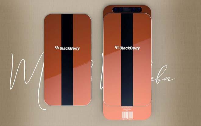 """Xuất hiên concept BlackBerry Alpha """"chất như nước cất"""" - 1"""