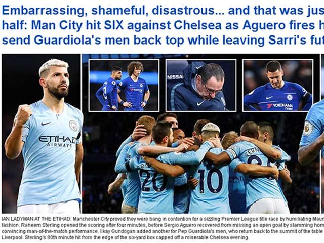 """Chelsea thua thảm: Sarri trước """"đoạn đầu đài"""", fan muốn Mourinho giải cứu"""