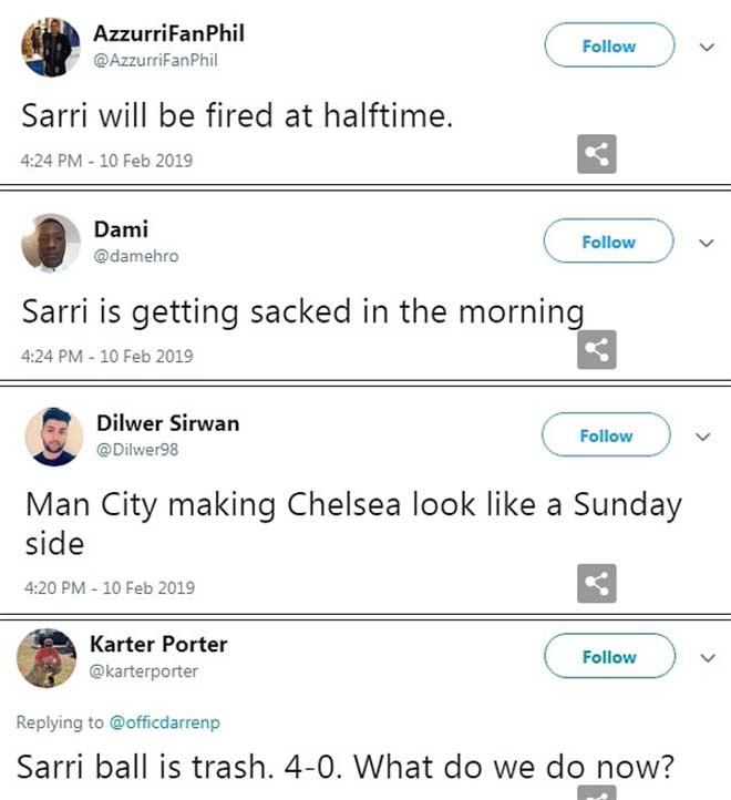 """Chelsea thua thảm: Sarri trước """"đoạn đầu đài"""", fan muốn Mourinho giải cứu - 2"""