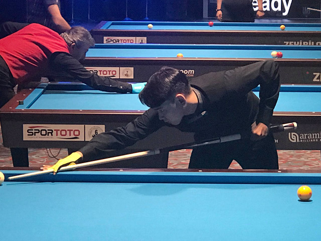 Vietnamese players are shining billiards World Cup: Defeat enemies over 2,300 steps