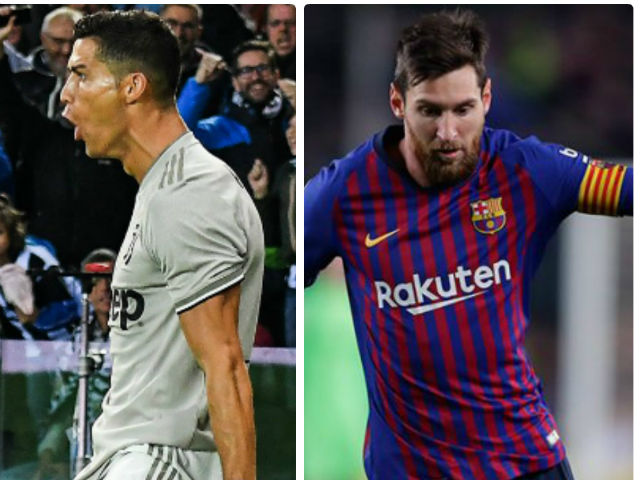 Ronaldo explodes 4 goals / 4 games The Golden Boot: Messi shakes on