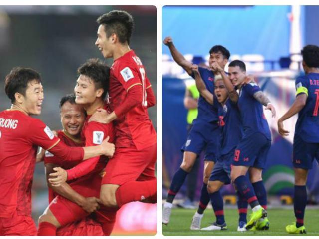 ĐT Việt Nam bao giờ đấu Thái Lan phân tài cao thấp?