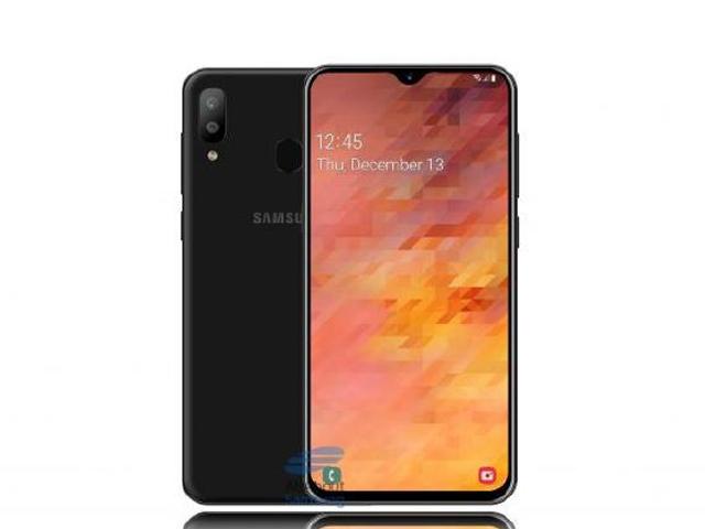 """Đã rõ kích thước Galaxy M30 với màn hình """"giọt nước"""" cực đẹp"""