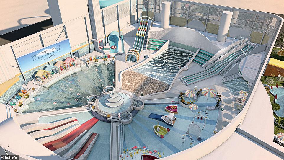 Chi đậm hơn 1200 tỷ chỉ để xây hồ bơi thu hút du khách đi nghỉ lễ - 1