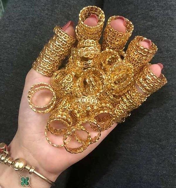 Nhẫn kim tiền, nhẫn lông voi giá rẻ rao bán rầm rầm cận ngày Vía Thần tài - 1