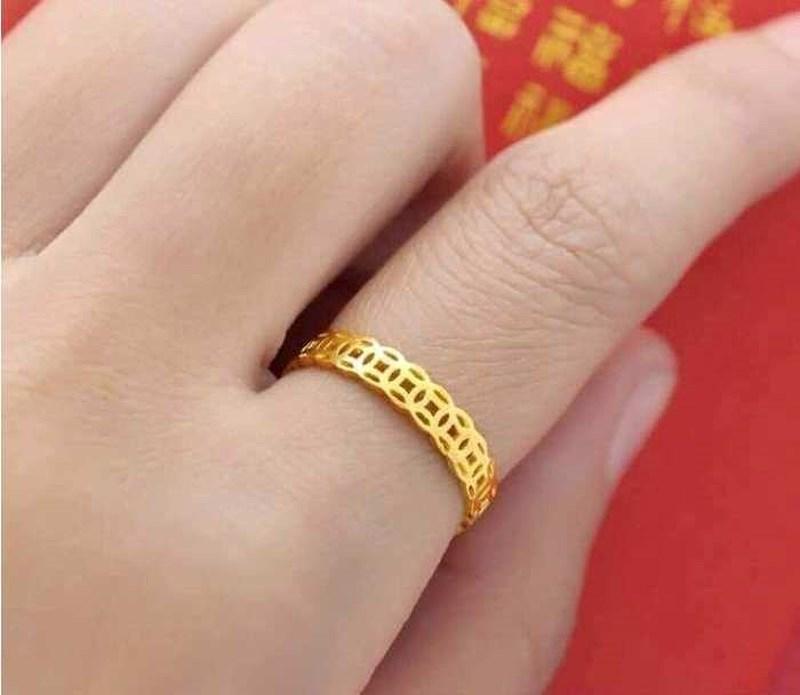 Nhẫn kim tiền, nhẫn lông voi giá rẻ rao bán rầm rầm cận ngày Vía Thần tài - 2