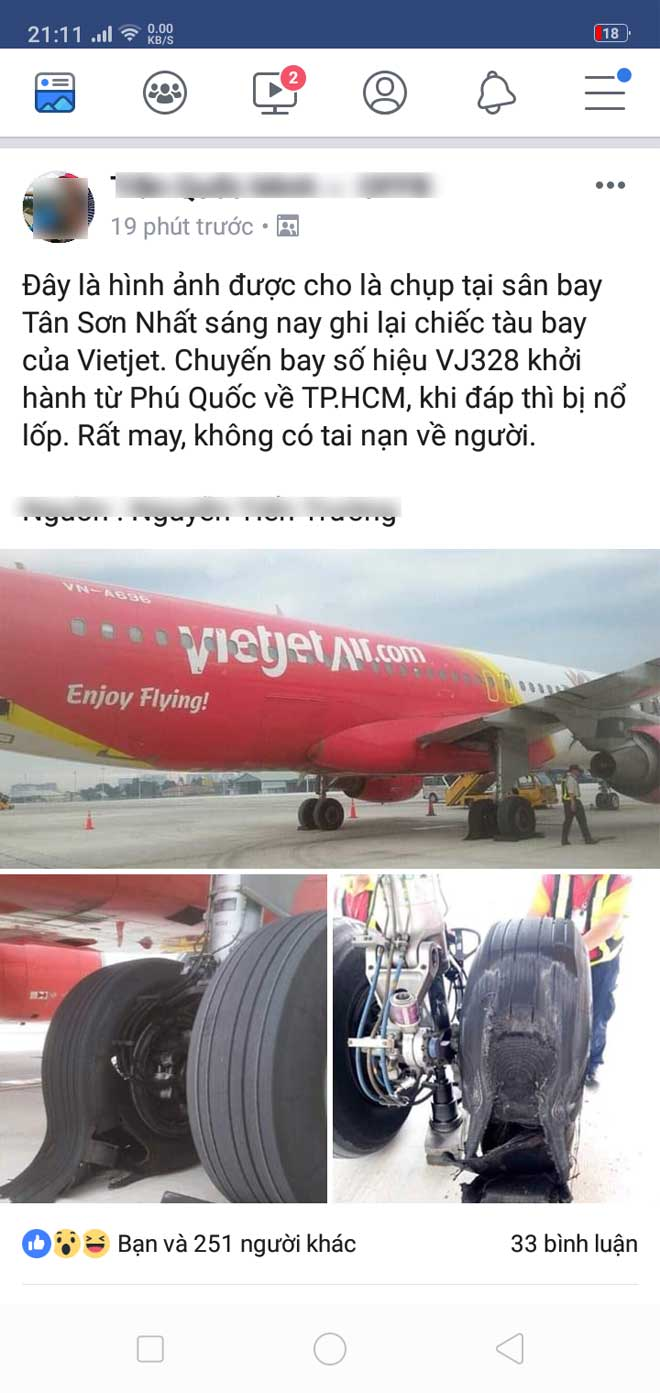 In fact, VietJet Air aircraft rocked their tires as they landed at Tan Son Nhat - 1