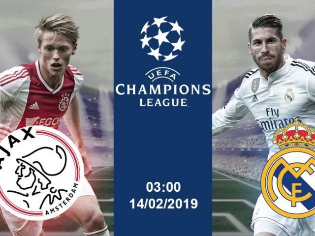 """Nhận định bóng đá Ajax - Real Madrid: """"Nhà vua"""" trong sự hưng phấn cao độ"""