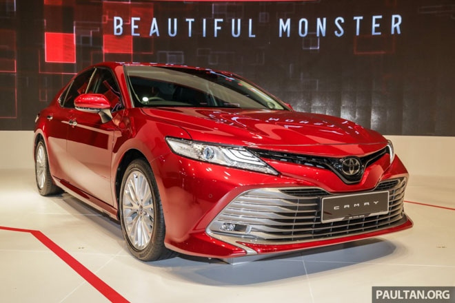 Toyota Camry 2019 comes to Vietnam to get a 5-star ASEAN NCAP-1 Safety Certificate