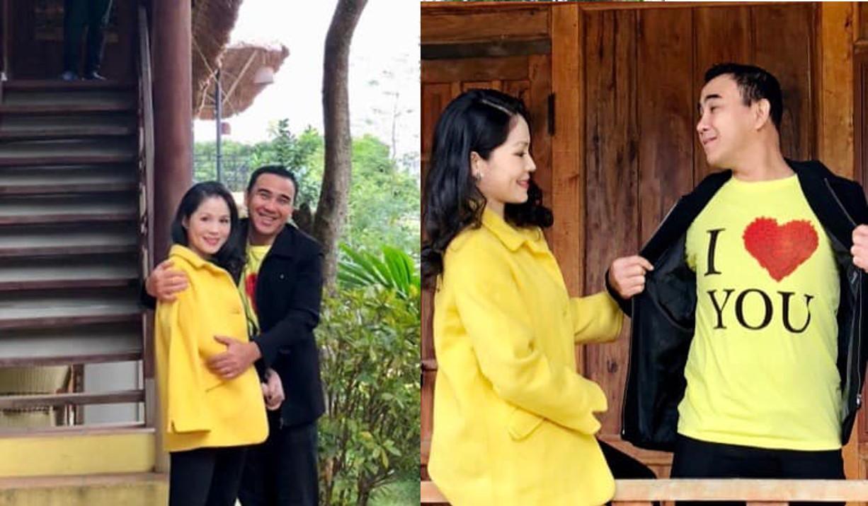 MC Quyền Linh tặng quà này cho vợ đại gia vào ngày Valentine, fan thích thú - 1
