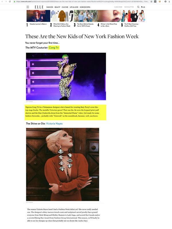 Bộ sưu tập của NTK Công Trí xuất hiện trọn vẹn trên Vogue - 1