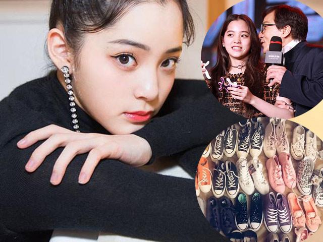 Con dâu tương lai của Thành Long giàu có nhưng chỉ thích giày thể thao