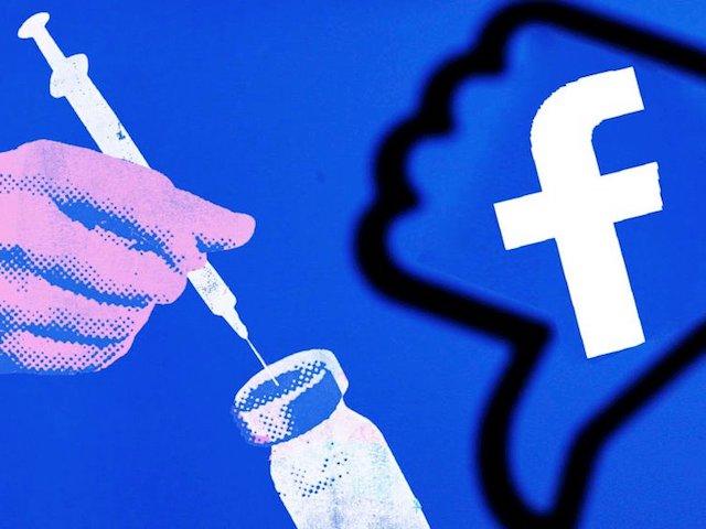 Facebook có thể xóa các bài viết anti vắc-xin
