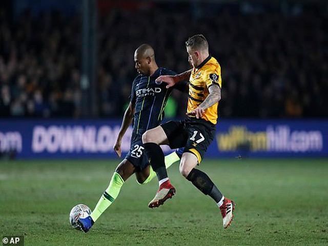 Highlight: Newport County vs Manchester City