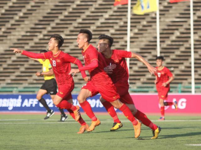 Bảng xếp hạng bóng đá giải U22 Đông Nam Á 2019: Việt Nam, Thái Lan vào bán kết