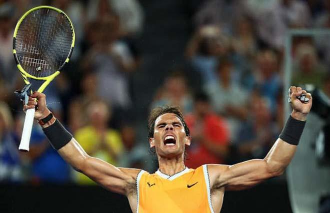 """Siêu sao tennis: Nadal """"ăn đứt"""" Federer - Djokovic ở ý chí chiến đấu - 1"""