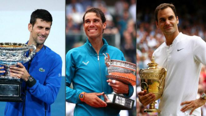 """Vua Grand Slam"": Mỹ nữ nhiều chồng tin Djokovic sẽ hạ bệ Federer, Nadal - 1"