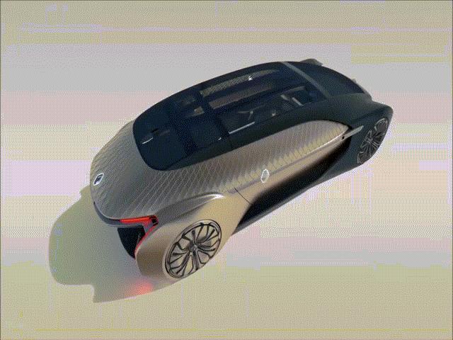 Cận cảnh siêu xe tự lái thông minh như trong phim viễn tưởng