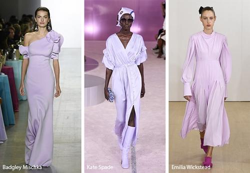 Cách dùng sắc tím mộng mơ khó mặc trong trang phục - 1