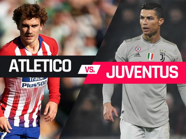 Atletico Madrid – Juventus: Ronaldo chờ gieo sầu kình địch cũ