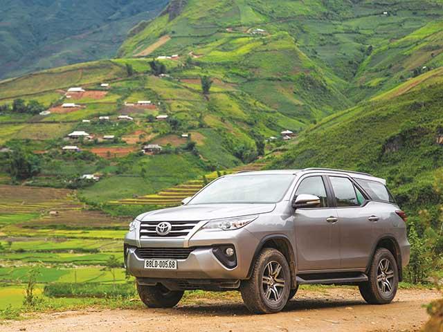 Tháng đầu năm 2019, Toyota Việt Nam bán được hơn 1100 chiếc Fortuner