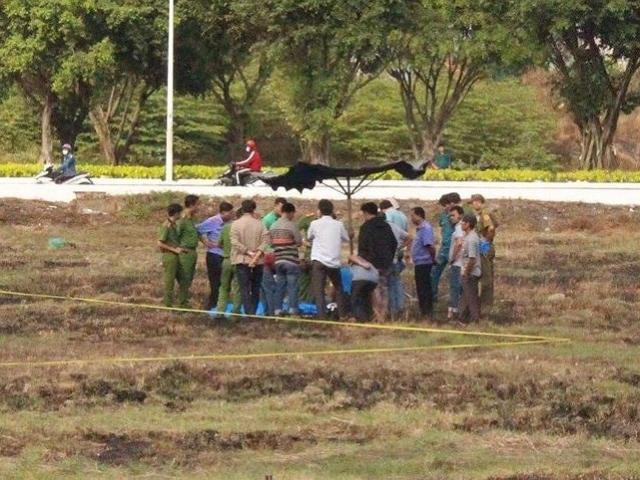 Find an unknown identity corps body in Binh Duong