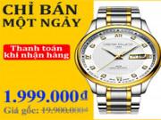 Đồng hồ nam Chronograph giá 1.999.000đ chỉ một ngày duy nhất