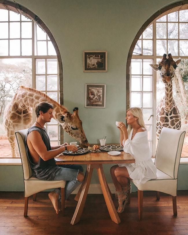 Chỉ nhờ du lịch, cặp đôi này có thể kiếm tới 9.000 USD cho mỗi bức ảnh - 1