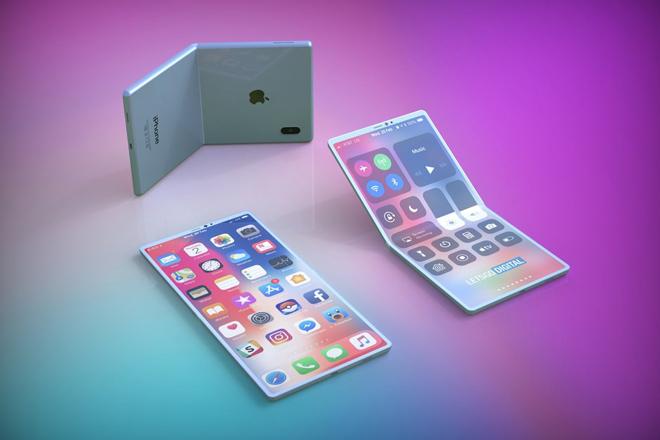 """Đây là chiếc smartphone gập mà Apple dùng để """"đối đầu"""" Galaxy Fold - 1"""