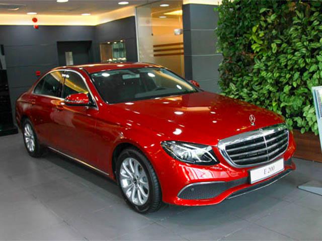 Mua xe Mercedes E200, E250, E300 2019 với mức giá tốt nhất trên thị trường