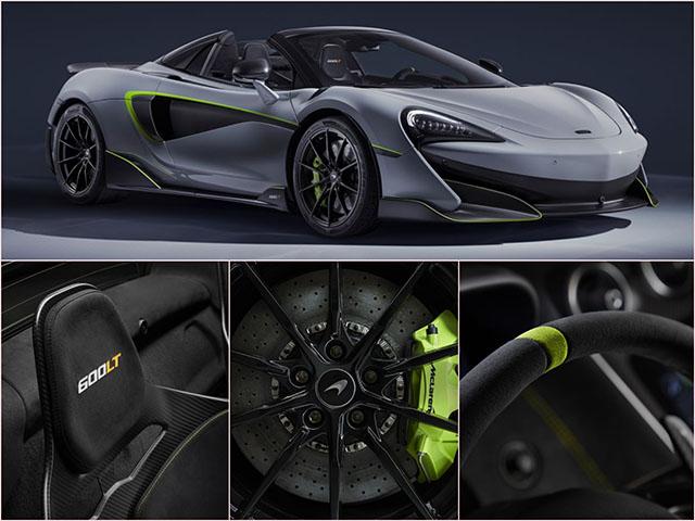 McLaren 600LT Spider được bộ phận MSO tuỳ biến, sắp trưng bày tại Geneva Motor Show 2019