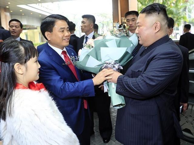Hình ảnh đầu tiên của Chủ tịch Kim Jong Un tại Hà Nội