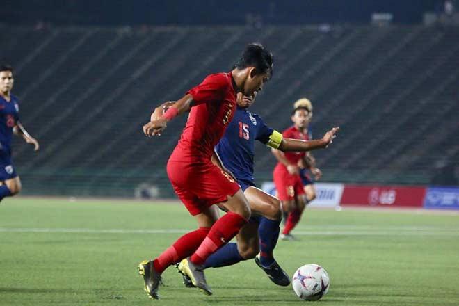 U22 Thái Lan - U22 Indonesia: 7 phút 3 bàn, định đoạt không chiến - 1