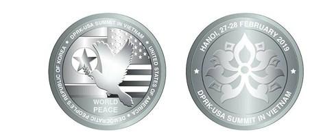 9h sáng mai 27/2, chính thức phát hành đồng xu bạc kỷ niệm Hội nghị thượng đỉnh Mỹ - Triều - 1