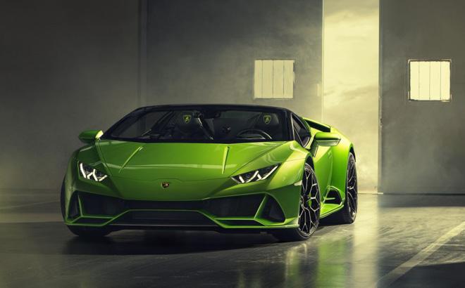 Xem trước Lamborghini Huracan EVO bản mui trần sắp được giới thiệu tại Geneva Motor Show 2019 - 1