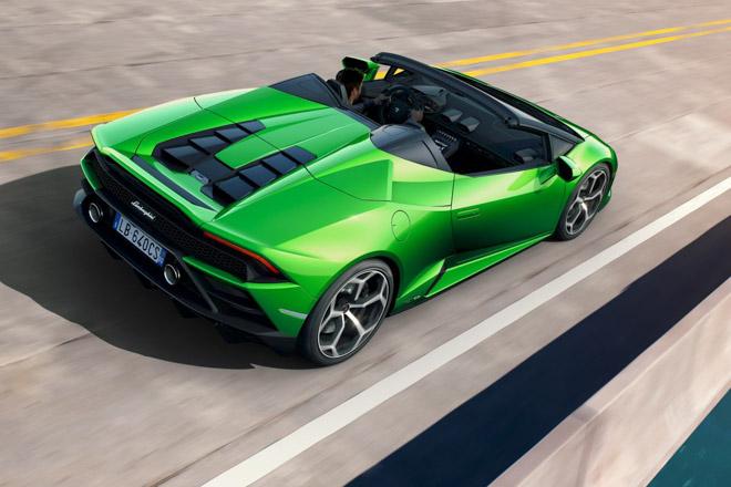 Xem trước Lamborghini Huracan EVO bản mui trần sắp được giới thiệu tại Geneva Motor Show 2019 - 10