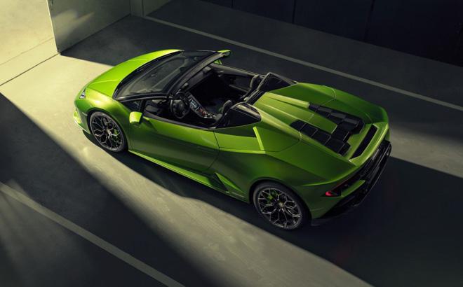 Xem trước Lamborghini Huracan EVO bản mui trần sắp được giới thiệu tại Geneva Motor Show 2019 - 2
