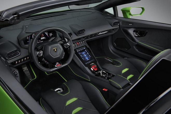 Xem trước Lamborghini Huracan EVO bản mui trần sắp được giới thiệu tại Geneva Motor Show 2019 - 7