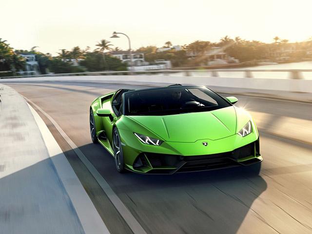 Xem trước Lamborghini Huracan EVO bản mui trần sắp được giới thiệu tại Geneva Motor Show 2019