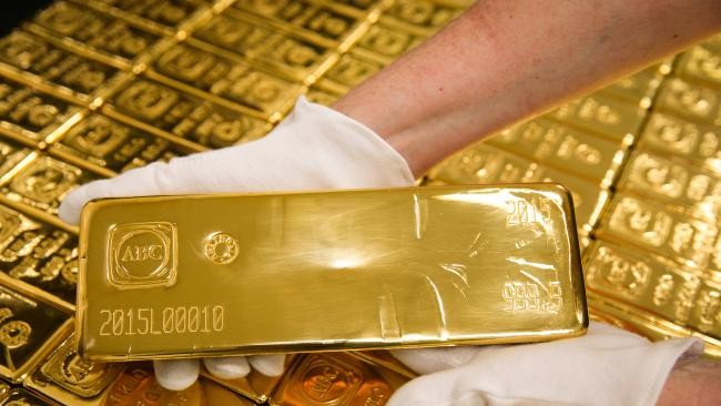 Gold price today, February 28: Gold plunged without brakes - 1