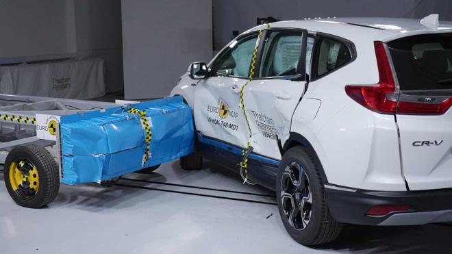 Honda CR-V đạt chứng nhận an toàn 5 sao Euro NCAP, ngang ngửa Mercedes G-Class - 6