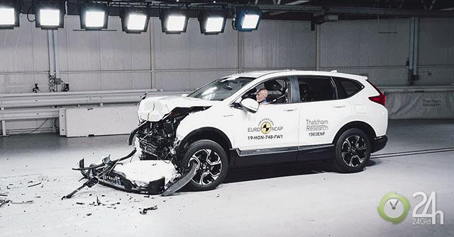 Honda CR-V đạt chứng nhận an toàn 5 sao Euro NCAP, ngang ngửa Mercedes G-Class