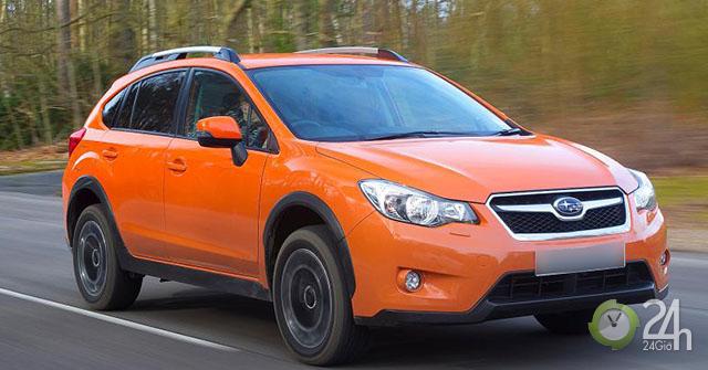 Subaru triệu hồi 4 dòng xe để thay thế công tắc đèn phanh