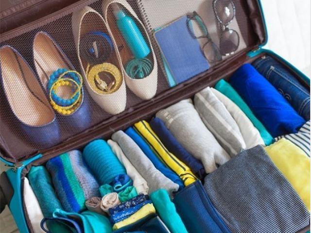 Bỏ túi ngay bí kíp xếp đồ đỉnh cao khi đi du lịch