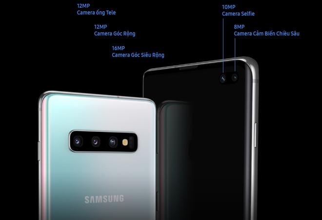Camera Galaxy S10: dẫn đầu xu hướng camera với cụm camera ba dải ngang