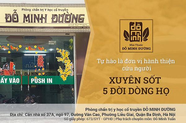 Nhà thuốc Đỗ Minh Đường: Tự hào với truyền thống 5 đời hành nghề bốc thuốc cứu người - 1