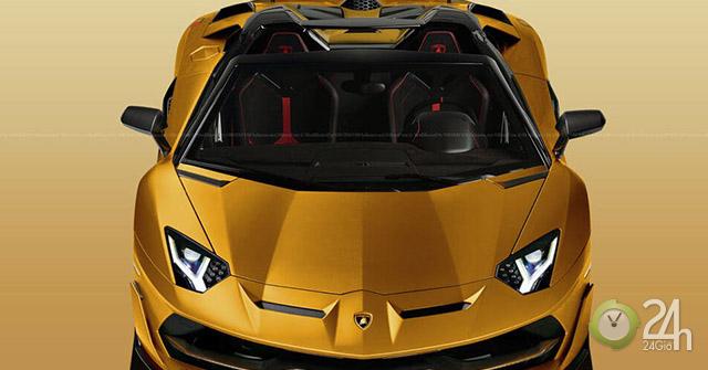 Lamborghini xác nhận ra mắt biến thể Aventador SVJ Roadster