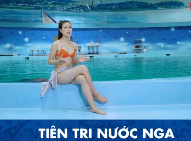 Đa phần khán giả đều cho rằng MC diện bikini dẫn sóng là không ổn. Tuy nhiên, nữ MC giải thích do quay chương trình ở hồ bơi nên mặc bikini phù hợp.