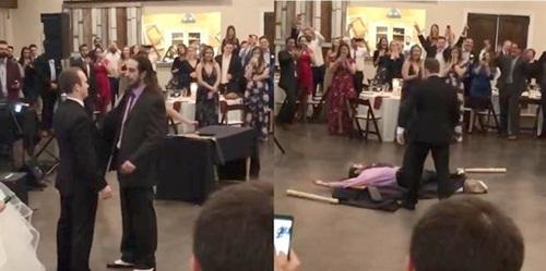 Bạn trai cũ tới đám cưới khiêu khích, chú rể ra mặt cực ngầu - 1