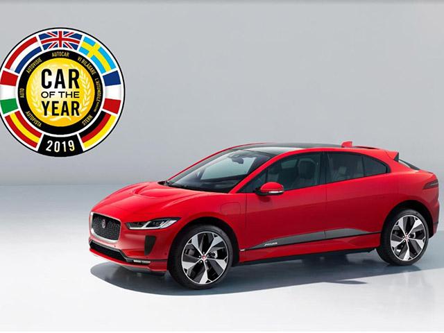 """Xe điện Jaguar I-Pace giành giải thưởng """"Xe của năm 2019 tại Châu Âu"""""""